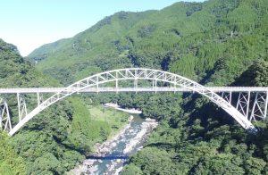 内大臣橋 完成ドローン